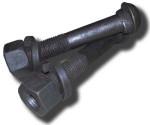 Болт стыковой М16x72 с гайкой, шайбой - №1